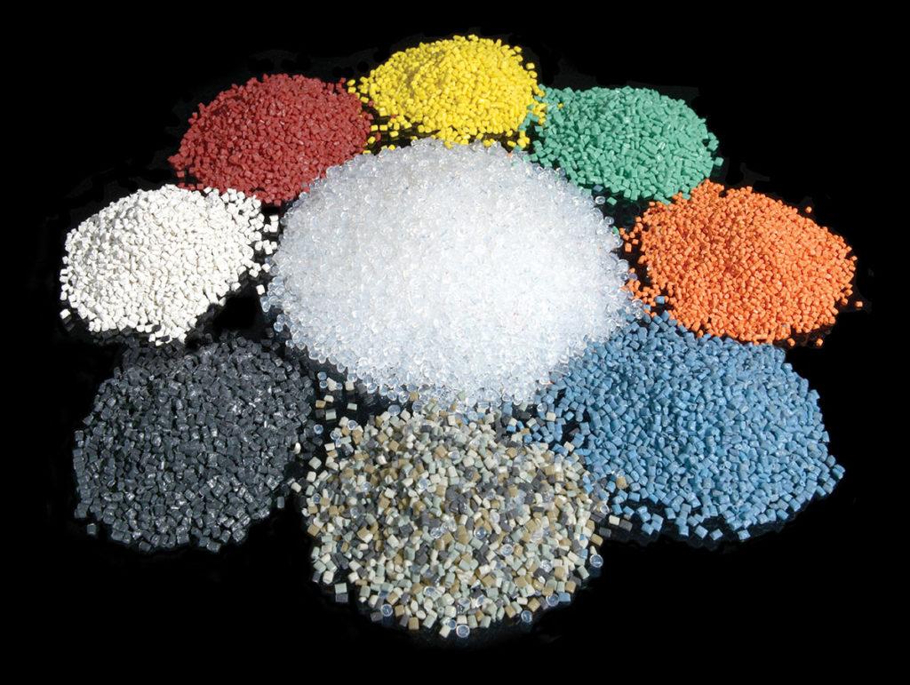 Multicolor granules